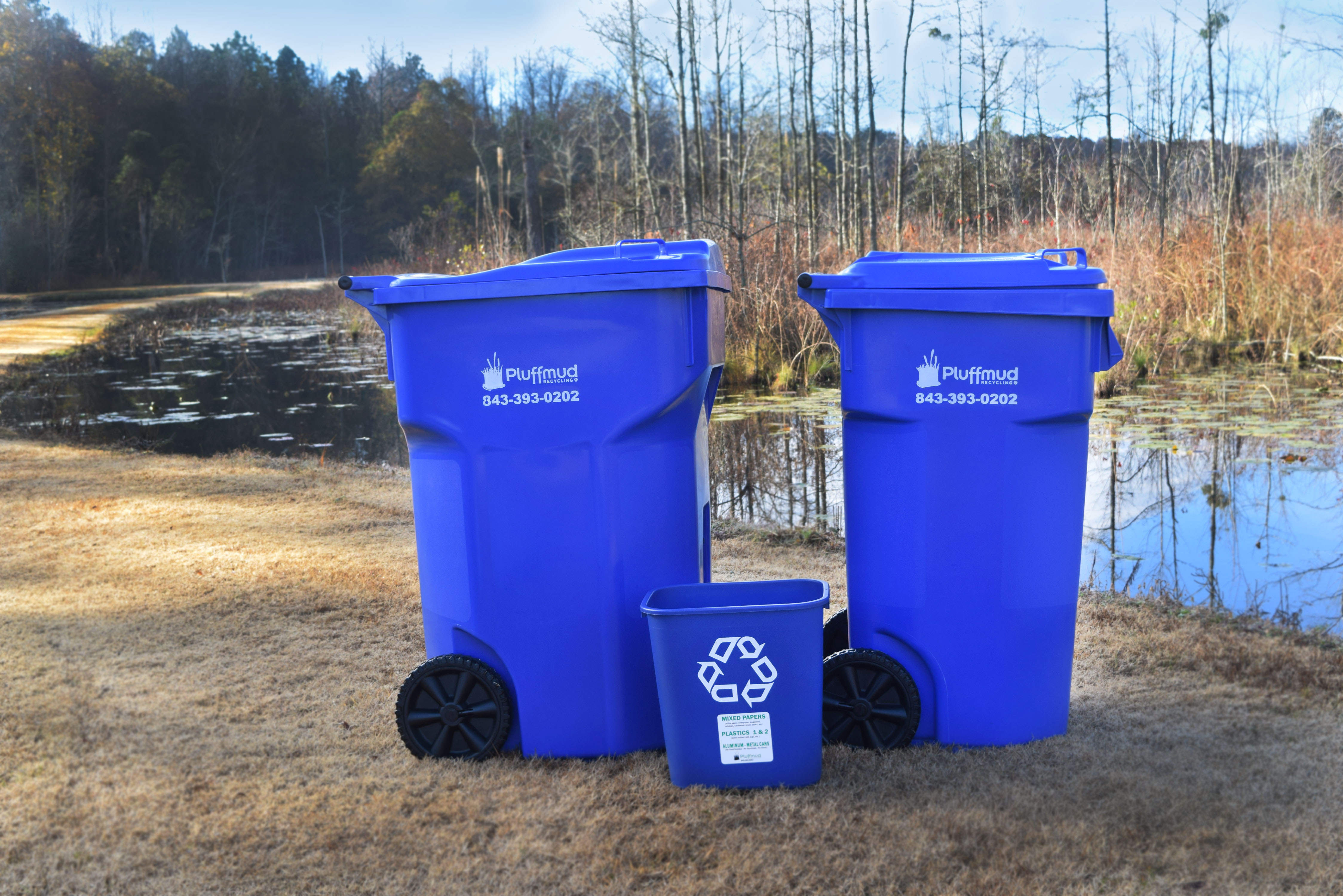 Pluffmud recycling carst